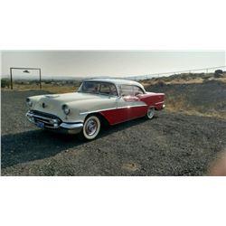 1955 Oldsmobile 98 Holiday 2 door Hardtop