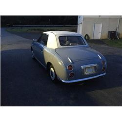 1991 Nissan Figaro Micro Fixed Top Convertible Coupe