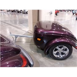 2000 Prowler Trailer sold with Lot 517 1999 Plymouth Prowler