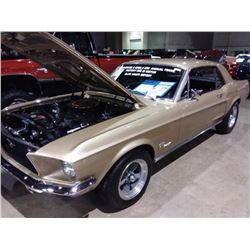 1968 Ford Mustang S code Coupe 4 speed