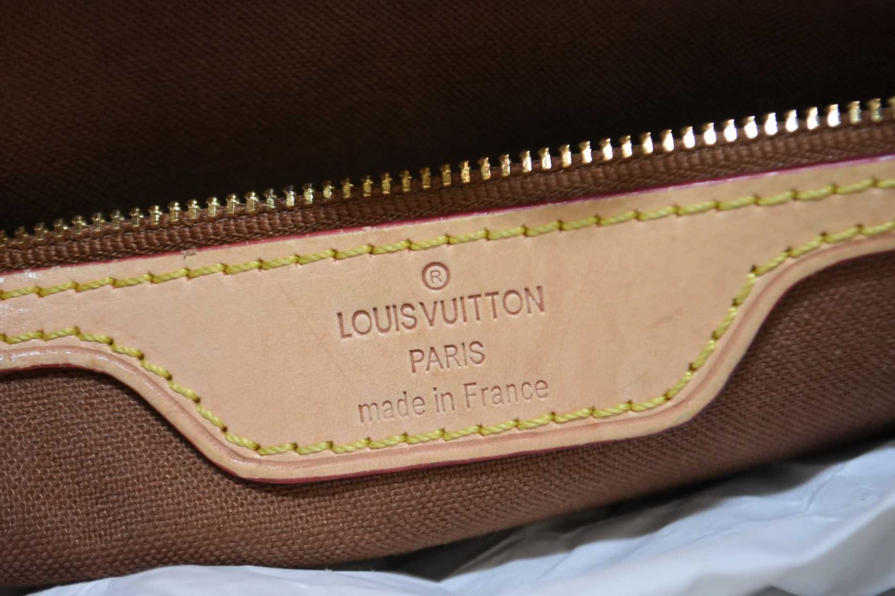 ... Image 5   Three vintage genuine Louis Vuitton bags including carry-all  date code TH0088 ... dab92ac5dfaac