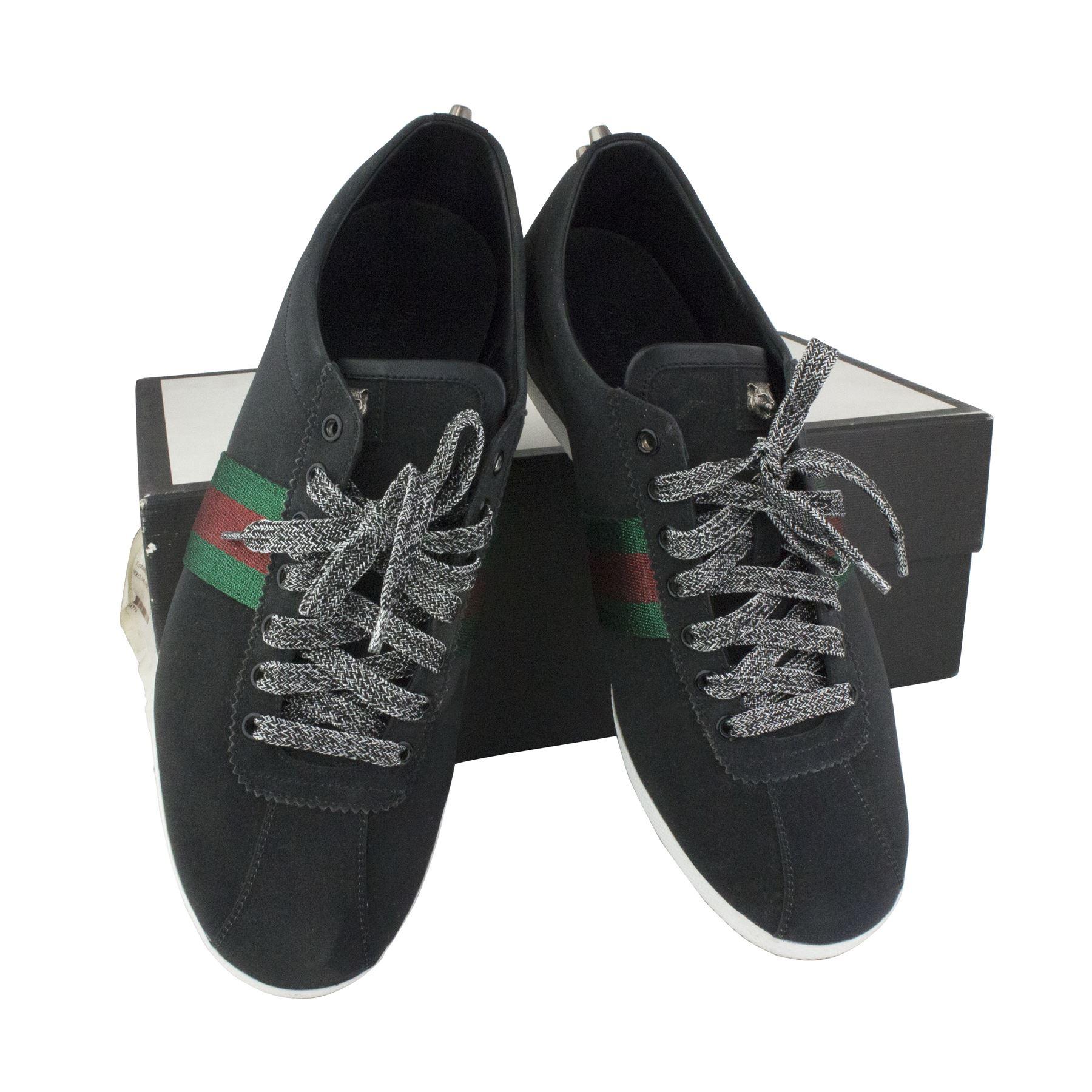 Gucci Glitter Web Sneaker 419712 Kw040 1074 Sneakers