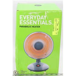 EVERYDAY ESSENTIALS PARABOLIC HEATER.