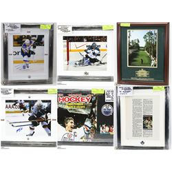 FEATURED ITEMS: AUTOGRAPHED MEMORABILIA