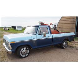 1974 F100 V8 Engine New Tires Running Automatic PS, PB