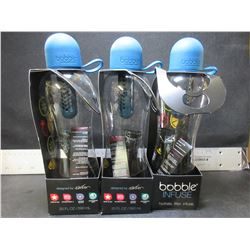 3 New Bobble Infuse bottles with filter