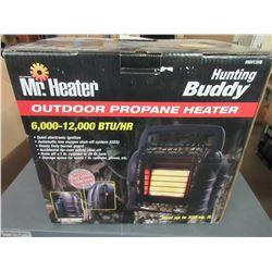 New Mr Heater Hunting Buddy 6000- 12,000 btu/hr outdoor propane heater