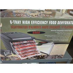 New 6 Tray High Efficiency Food Dehydrator