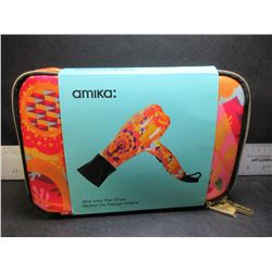 New Amika mini Ionic Hair Dryer / great for travel