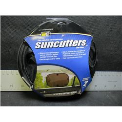 1 New Pair of Suncutters side shade for your Vehicle