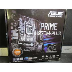 New ASUS Prime  H270M-PLUS csm MotherBoard 5x protection lll