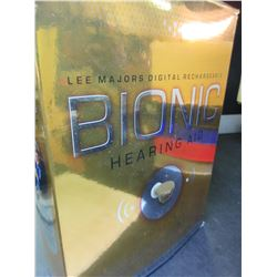 New Bionic Hearing Aid complete kit with additional Amplifier / 1 for each ear