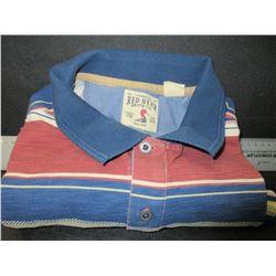 New Mens short sleeve Golf Shirt / size large