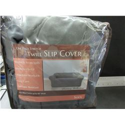 New One Piece Twill stretch Slip Cover for Sofa