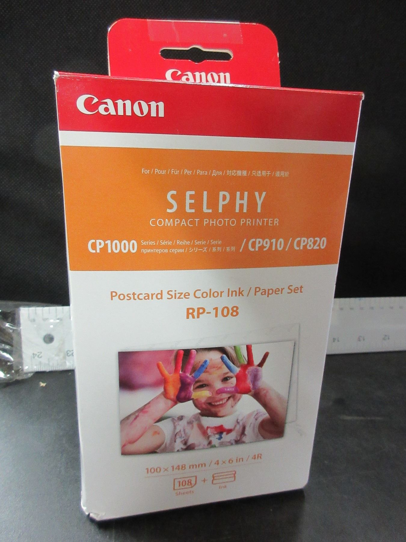 Selphy Compact Photo Printer / Postcard size color ink