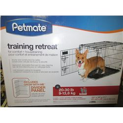 New PetMate Wire training retrete / kennel / leakproof removable floor pan