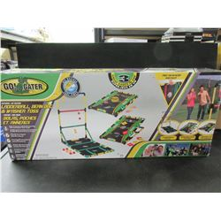 LadderBall / Bean Bag & Washer Toss Game / great for Camping or Yard