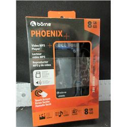 New Phoenix 8 gb Video MP3 Player / Touch Screen