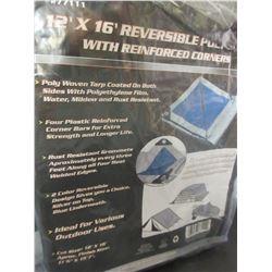 New 12 x 16 Reversable Tarp