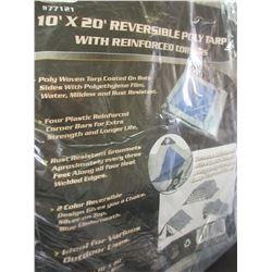 New 10 x 20 Reversable Tarp