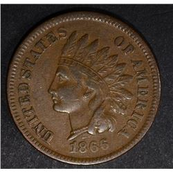 1866 INDIAN CENT, VF