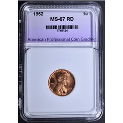 1952 LINCOLN CENT APCG SUPERB GEM
