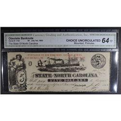 1863 $5 - OBSOLETE BANKNOTE