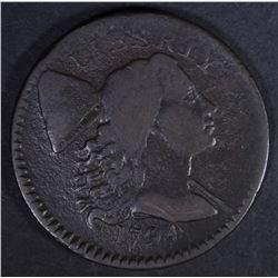 1794 LIBERTY CAP LARGE CENT  F/VF