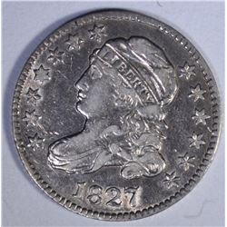 1827 CAPPED BUST DIME  AU