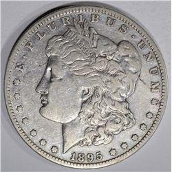 1895-S MORGAN DOLLAR, XF