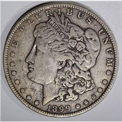 1899 MORGAN DOLLAR, VF