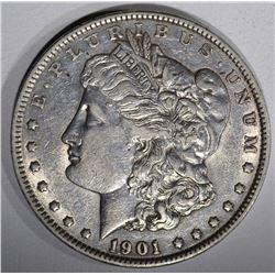 1901 MORGAN DOLLAR, AU