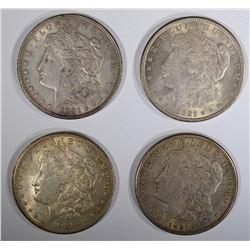2-1921 & 2-1921-S AU MORGAN DOLLARS