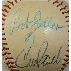 CLEVELAND INDIANS SIGNED BALL