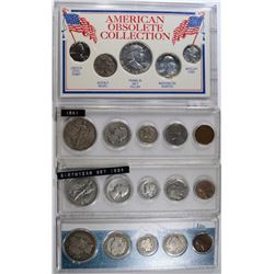 4 SILVER TIRBUTE SETS; COINS of TITANIC