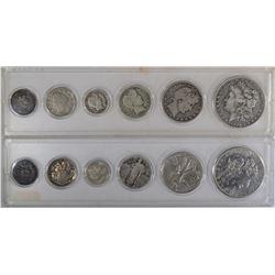 19th & 20th COINS; 1896-O MORGAN,