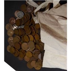 4558 - WHEAT CENTS in CANVAS BAG