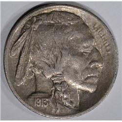 1913-S TYPE 1 BUFFALO NICKEL AU+