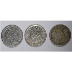 SEATED DIME LOT:
