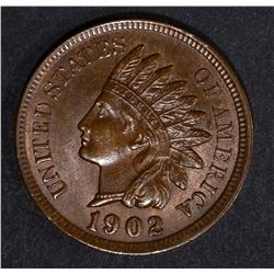 1902 INDIAN CENT, CH BU+