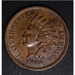 1880 INDIAN CENT, CH BU