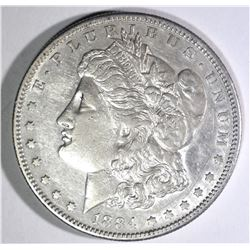 1884-S MORGAN DOLLAR, AU