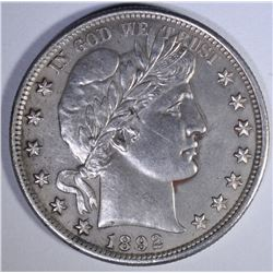 1892 BARBER HALF DOLLAR  CH PROOF