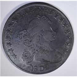1802 DRAPED BUST SILVER DOLLAR  XF