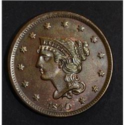 1840 LARGE CENT  CH BU