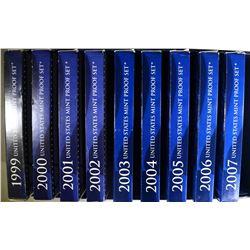 1999 - 2007 PROOF SETS