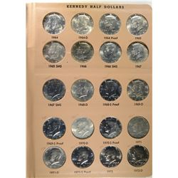 KENNEDY HALF DOLLAR SET COMPLETE 1964-2005