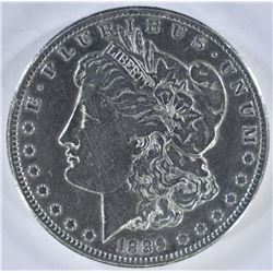 1889-CC MORGAN DOLLAR  VF+