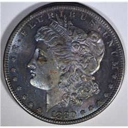 1880-S MORGAN DOLLAR CH BU COLOR