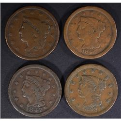 U.S. LARGE CENT LOT: